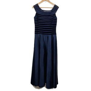 JS Collections Royal Blue Formal Sleeveless Dress